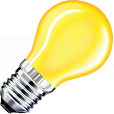 AGL 25W E27 żółty Żarówka (E)