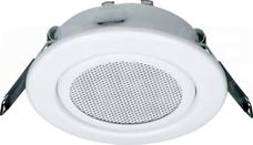 WUZ672 80mm 3W biały Głośnik sufitowy