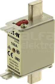 WT/NH-000 gL/gG 100A 500V Wkładka bezpiecznikowa NH podw.wskaźnik