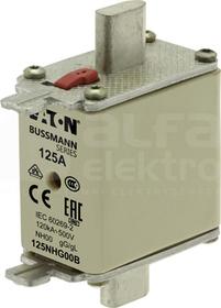 WT/NH-00 gL/gG 125A 500V Wkładka bezpiecznikowa NH podw.wskaźnik