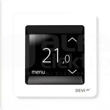DEVIREG TOUCH RAL9010 biały Termostat programowalny dotykowy