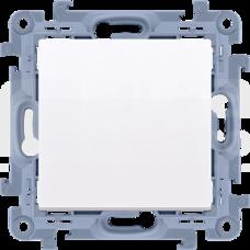 SIMON10 biały Łącznik jednobiegunowy