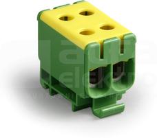 KE66.3 2,5-50mm2 żół-ziel Zacisk Al/Cu CLAMPO PRO rozg