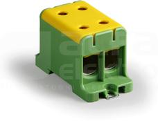KE67.3 16-95mm2 żół-ziel Zacisk Al/Cu CLAMPO PRO rozg