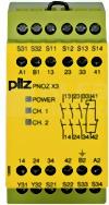 PNOZ X3 230VAC 24VDC 3n/o 1n/c 1so Przekaźnik bezp.wył.aw.drz.och.kurt.świ.