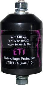 ETITEC A 660/5/A-NO Ogranicznik przepięć z odłącznikiem