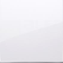 SIMON54 biały Klawisz pojedynczy