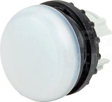 M22-L-W BIAŁA PŁASKA GŁÓWKA LAMPKI