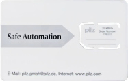 PNOZmulti Chipcard 1 piece 32kB Sterownik bezp.akcesoria