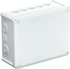 T250 jasnoszara IP66 z dławikami Puszka natynkowa 240x190x95