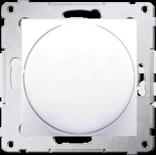 SIMON54 2-250W biały Ściemniacz LED naciskowo-obrotowy