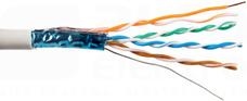 FTP DOMNET kat.5e CU PVC (305)Przewód teleinformatyczny
