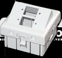 45x45 2xSC kątowy Adapter podwójny