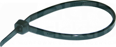 HOK 302x4,8mm czarny (100szt) Opaska kablowa UV