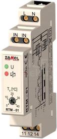 RTM-02 -10-40C 230VAC Regulator temperatury