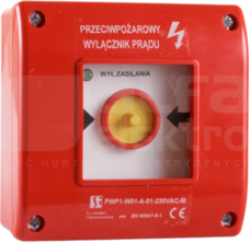 PWP1-W01-A-11-230 Wyłącznik przeciwpożarowy