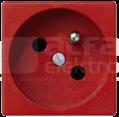 CONNECT 2P+Z czerwony Gniazdo K45