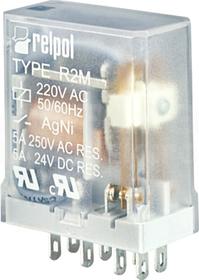 R2M-2012-23-5230 2P 230VAC IP40 Przekaźnik przemysłowy