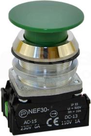 NEF30-Dz XY zielony Przycisk dłoniowy