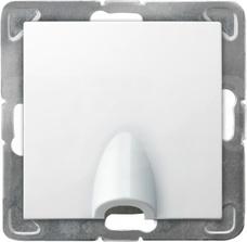 GPPK-1Y/M/00 biały Przyłącz kablowy