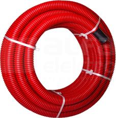 RODK 160/134 czerwony (25mb) Rura karbowana dwuwarstwowa zwój