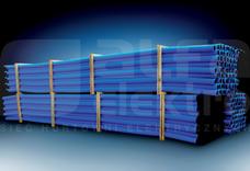 RODO 110/92 niebieski (6mb) Rura karbowana dwuwarstwowa
