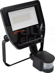 FLOODLIGHT 20W/4000K 1900lm 100D IP65 czarny Naświetlacz LED z czujnikiem ruchu