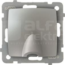 GPPK-1S/M/43 srebrny perłowy Przyłącz kablowy
