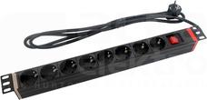 8x230V Listwa zasilająca z wyłącznikiem