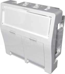 MMC 45x45mm dla 2xRJ45 BC Adapter