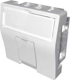 MMC 45x45mm dla 1xRJ45 BC Adapter
