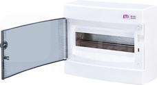 ECT12PT 12mod IP40 Rozdzielnica natynkowa drzwi przezroczyste