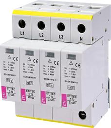 ETITEC C T2 275/20 4+0 Ogranicznik przepięć
