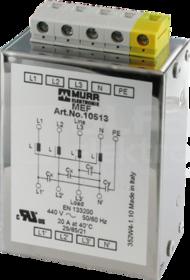 MEF 20A 4x440VAC Filtr EMC 3-fazowy 1-poziomowy