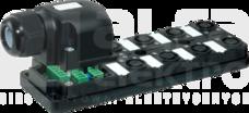 MVP12 8xM12 5P wtyk z zaciskiem sprężynowym Moduł pasywny