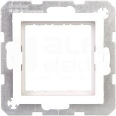 B.KWADRAT systo 45x45mm biały połysk Zestaw adaptacyjny