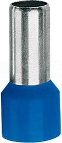 TE 2,5-10 niebieski (100szt) Końcówka tulejkowa izolowana