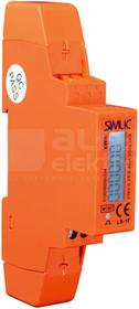LS-1F pomarańczowy Licznik energii elektrycznej