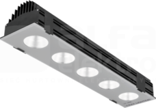 FLASH NEW LED 135W/840 14000lm 70D IP66 Projektor LED