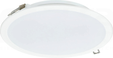 DN065B LED20S/840 2000lm PSU II WH Downlight LED LEDINAIRE