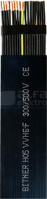 H05VVH6-F 20G0,75 /500V Przewód dźwigowy płaski