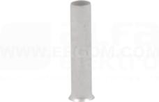 H 2,5/12 ERHN (100szt) Końcówka tulejkowa bez izol.