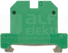 EK 4/35 żółto-zielony Złączka ochronna śrubowa