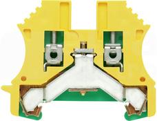 WPE 2,5 żółto-ziel. Złączka ochronna śrubowa