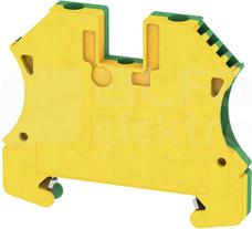 WPE 4 żółto-zielony Złączka ochronna śrubowa
