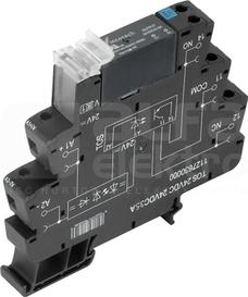 TOS 24VDC/24VDC 3,5A Przekaźnik półprzewodnikowy