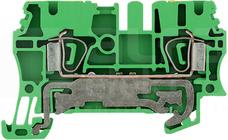 ZPE 2,5 żółto-zielony Złączka ochronna sprężynowa