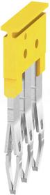 ZQV 2,5/3 GE żółty Mostek sprężynowy 3-torowy