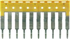 ZQV 2,5/10 GE żółty Mostek sprężynowy 10-torowy