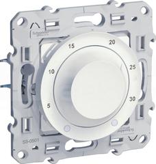 ODACE biały Termostat elektroniczny obrotowy